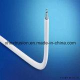 Fabricación de la máquina extrusora de alimentación de PVC con doble-Pipes Línea de Producción