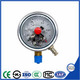 Nouveau style de contact électrique résistant aux chocs - manomètre Manomètre avec une haute qualité