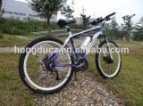 A mediados con el pedal de accionamiento del motor económico de la moda más reciente bicicleta eléctrica Bicicleta de Montaña E