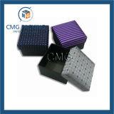 Твердая крышка картона и низкопробная бумажная коробка для ювелирных изделий (CMG-015)