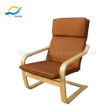 Cadeira para sala de estar de cabeça simples para assistir TV