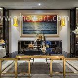 가정 장식을%s Handmade 해돋이 유화 화포 벽 예술