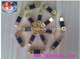 Adaptador eléctrico de usinagem CNC os pinos de latão para carregador (HS-BS-0082)