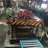 鋼鉄物質的なスーパーマーケットの商品の表示は生産設備ドバイを形作るロールに穴をあける