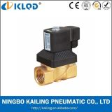Válvula de solenóide a ação direta do estojo compato da série Kl223