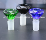 Vidrio de alta calidad Mayoreo Accesorios Pipa pipa de agua recipiente de cristal por el resplandor de vidrio