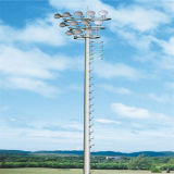 Hauteur de 30 m Hauteur de levage en acier Pole Hight Mast Lighting