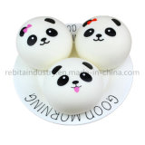 Le pain Bun Mini Panda Squishies ralentir la hausse Kawaii Squishy Toy