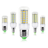 E14 E27 Milho lustre a Lâmpada LED candeeiro de secretária à luz de velas