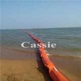 Boom del petrolio a prova di fuoco della gomma del PVC (uso in mare ed in fiume)