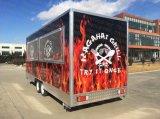 Caravan dell'alimento, camion di cucina, approvvigionamento, negozio, workshop mobile, ufficio, rimorchio di qualità