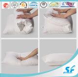 Oreiller en plume de canard blanc / Oreiller de santé / Oreiller de suspension / Oreiller en fibre de polyester siliconé