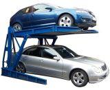 Гидровлический опрокидывая подъем стоянкы автомобилей автомобиля 2 слоев столба двойных