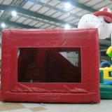 Castelli rimbalzante di salto gonfiabili commerciali dei giochi gonfiabili di sport dei capretti