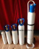 cilindri dell'argon di 40L 6m3 con le protezioni