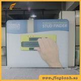 10FT droit tissu intérieur Waveline bannière Support d'écran d'exposition