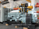 2250kVA 1800kwの予備発電の三菱ディーゼル発電機セット