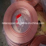 Aire acondicionado Utilizando Bobinas de tubo de cobre