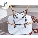 شعبيّة كلاسيكيّة بلاستيك ظهر معدنة إطار ساق وقت فراغ يتعشّى كرسي تثبيت