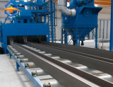 Ontsproten staal/Schoonmakende Machine van de Ontploffing van het Gruis de Schurende met de Transportband van de Rol