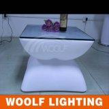 Alta calidad de mesa de café LED exterior luces LED
