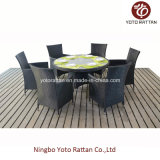 Table & Chair di vimini per Outdoor (1308)