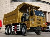 Sinotruk HOWO 6*4 Добыча полезных ископаемых Dumper погрузчика 70 T
