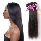 Extensão de seda do cabelo reto do Virgin real quente do cabelo de Remy da nova onda da venda