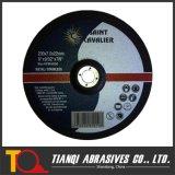 Disco di molatura concentrare depresso per metallo/acciaio 230X7.0X22.23