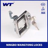 ステンレス鋼Tのハンドルの折れ戸ロック