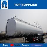3車軸が付いている半タイタンの石油タンカーのトラックのトレーラーの炭素鋼タンク
