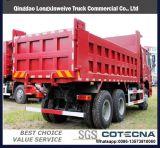 쓰레기꾼, 팁 주는 사람, HOWO 6X4 트럭, 팁 주는 사람 트럭