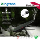 L'erba asciutta Vape del vaporizzatore della mamba nera all'ingrosso del Canada Kingtons con il distributore ha voluto