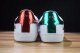 Pattini correnti casuali respirabili di sport di cuoio delle scarpe da tennis di modo 36-45