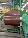 Цвет кофеего покрыл гальванизированную стальную катушку PPGI для Corrugated плитки