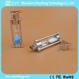 Nuovo azionamento dell'istantaneo del USB dell'orologio di Sandglass Sandy della clessidra di disegno (ZYF1701)