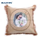 Coperchio in bianco del cuscino di sublimazione, cassa del cuscino per l'hotel, decorazione domestica