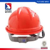 De Helm van de veiligheid (Bouwvakker) met HDPE van de Pal Materieel Verklaard die Ce wordt gelucht
