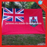Promoción personalizada enorme bandera de poliéster para el evento