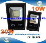 De LEIDENE Lichten/SMD van de Vloed van Yaye 18 leiden Ce/RoHS 10/20W SMD LEIDENE SMD van de Muur Wasmachine van de Schijnwerper/met 3 Jaar van de Garantie