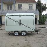 販売のための高品質によってカスタマイズされる多色刷りの移動式食糧トラック