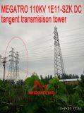 Башня передачи тангенса DC Megatro 110kv 1e11-Szk