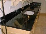 台所、浴室のための自然で黒い花こう岩/大理石の石造りの虚栄心の上かカウンタートップ