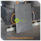 Пусковая площадка аутриггера крана подгонянного HDPE размера и цвета пластичная