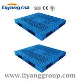1200*1000*150mm paletes de plástico empilháveis para o depósito