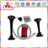 Haut-parleur bi-directionnel noir de véhicule de klaxon d'air