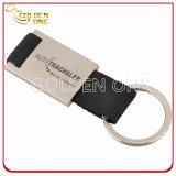 Gravação personalizada Porta-chaves de metal retangular