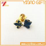 Cutom цветной эмалью контакт с золотым покрытием (YB-SM-05)