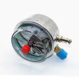 新しいデザイン鋼鉄が付いている耐衝撃性の電気接触の圧力計