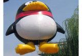 Modello gonfiabile unico dell'elio del fumetto per la pubblicità del parco di divertimenti